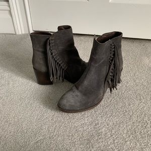 Kenneth Cole Rotini Fringe Bootie